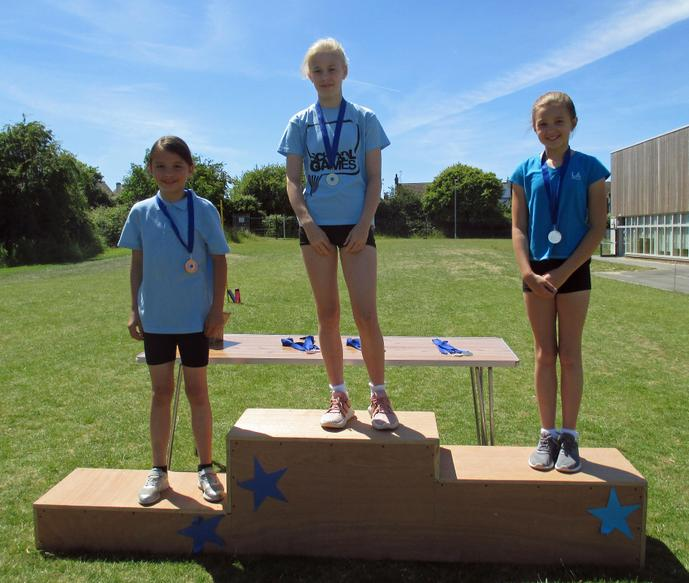Year 5 Girls Short Race Winners