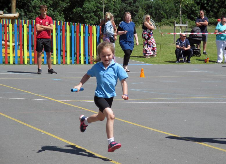 Reception Relay Race
