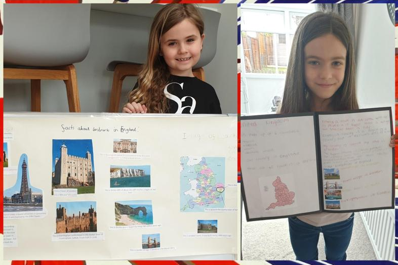 England by Aria and Olivia