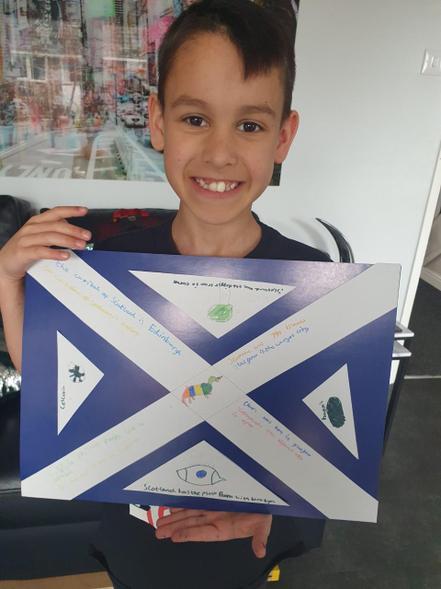 Scotland by Cruz