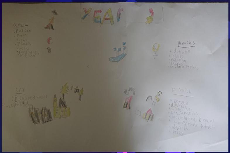 Jordan's colourful poster