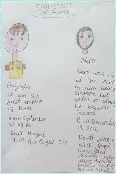 Roman Emperors by Sophie
