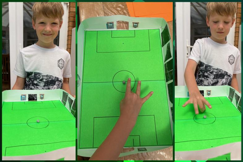 Alfie's table football game