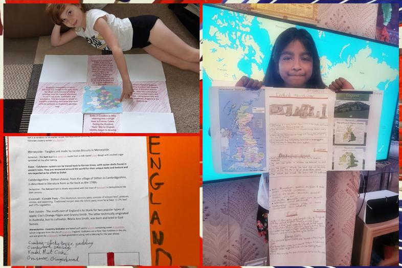 England by Chloe, Franklin and Sabs