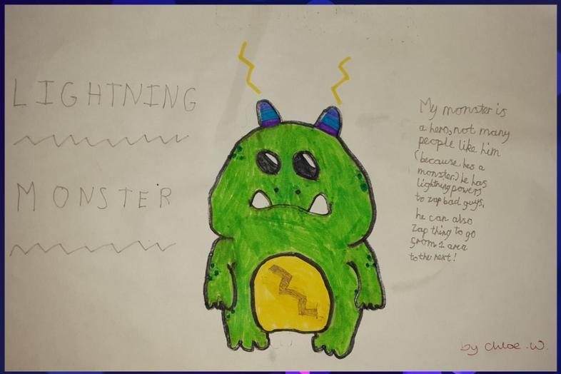 Chloe's monster creation