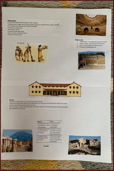 All about Roman life by Jess