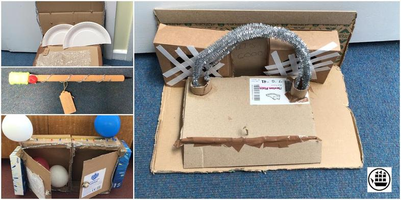 Some examples of the prototypes that we designed and built from our Dyson Day!