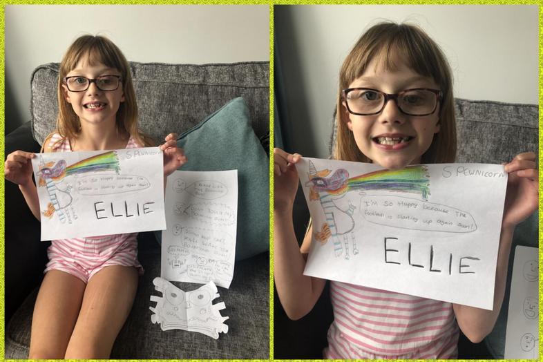 Great Olaf inspired art by Ellie