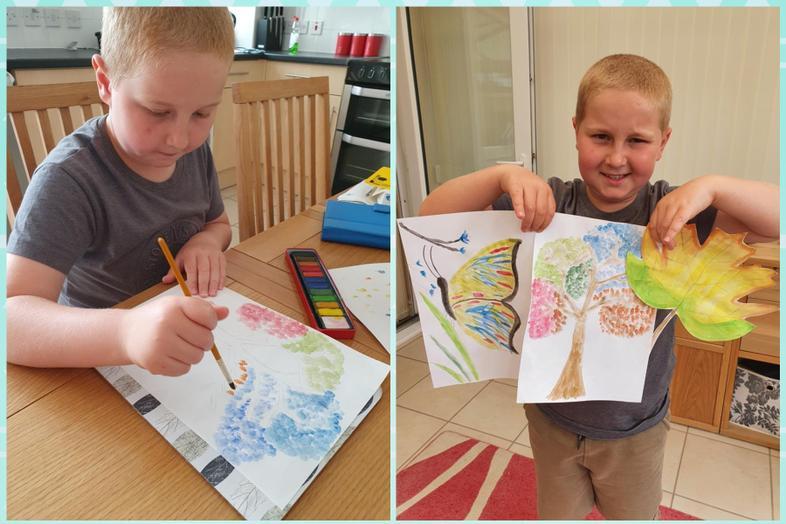 Josh's excellent watercolour recreations