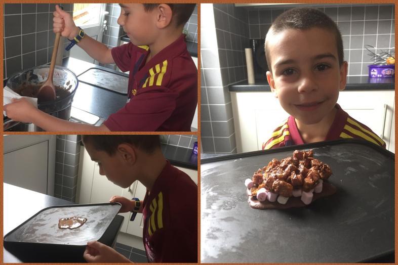 Chocolate rocks from Lucas