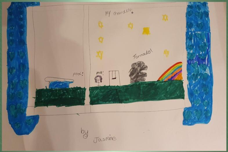 Jasmin's View...with a tornado