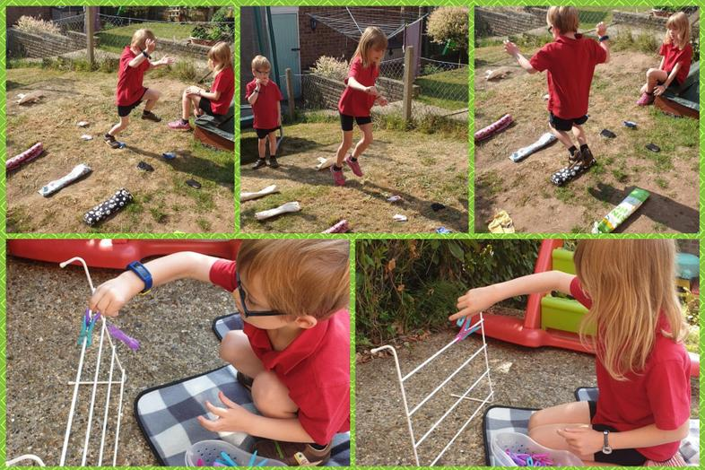 All round action from Sophie and Isaac