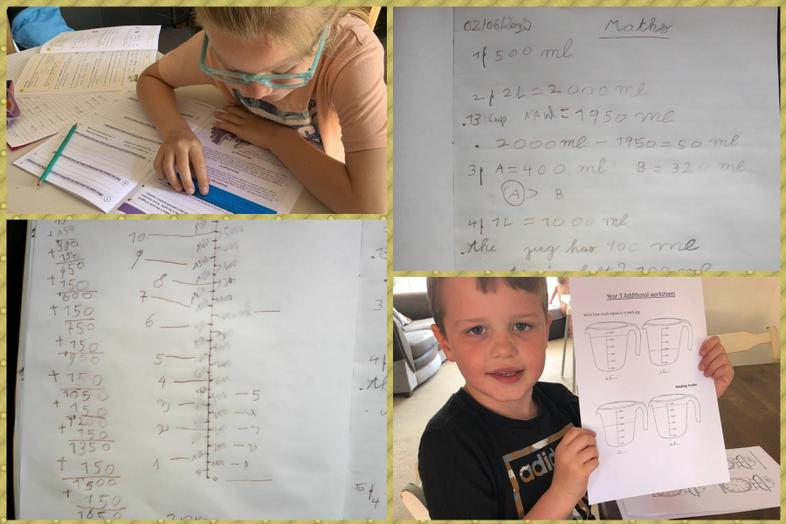 Maths and English from Augustin, Preston and Lacie