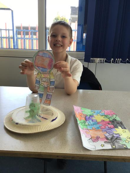 Harrison's UFO and space pictures