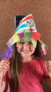 Lily's head dress