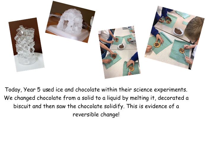 Learning about reversible change!