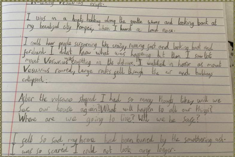 Some great English from Alfie