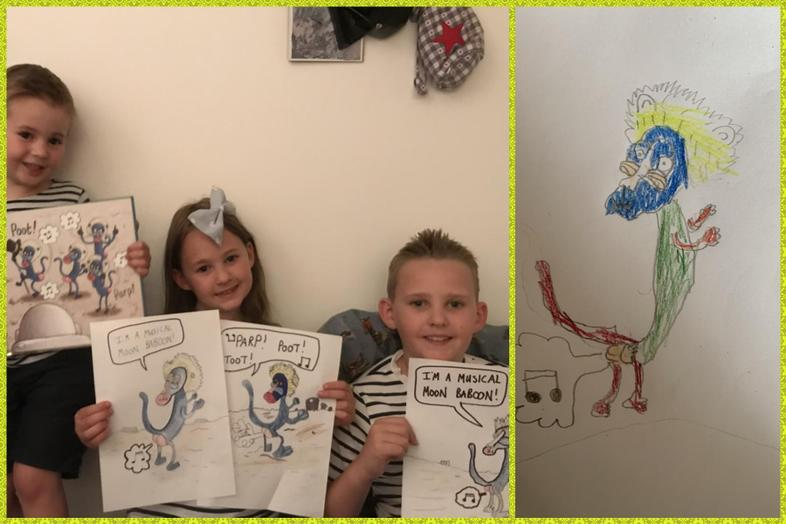 Olaf-inspired art by The Taylors and Lacie