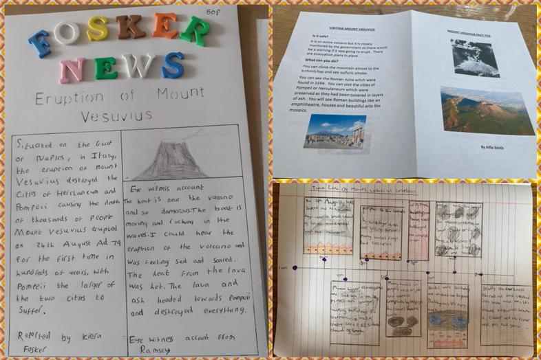 All about Mt Vesuvius by Kiera, Jess and Alfie