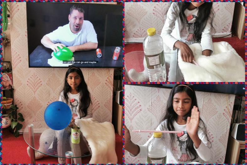 Science and static electricity from Sabs