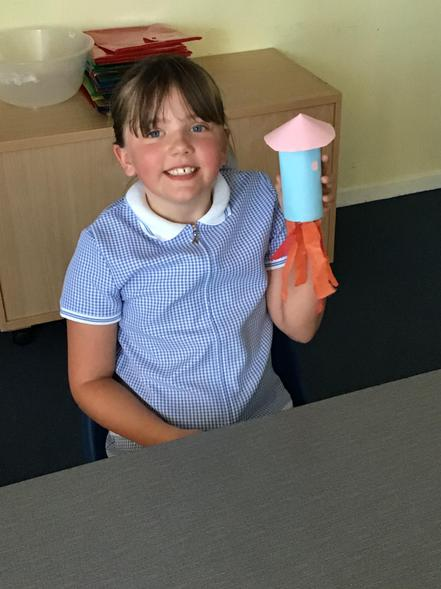 Paige's rocket