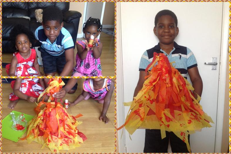 Augustin's excellent volcano (with a bit of help)
