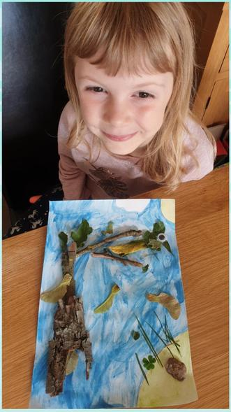 A mix of nature and watercolours from Sophie