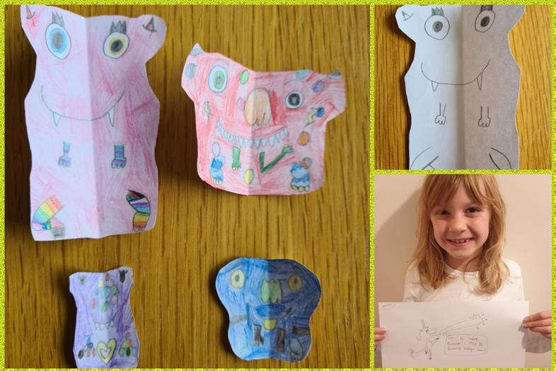 Great Olaf inspired art by Sophie