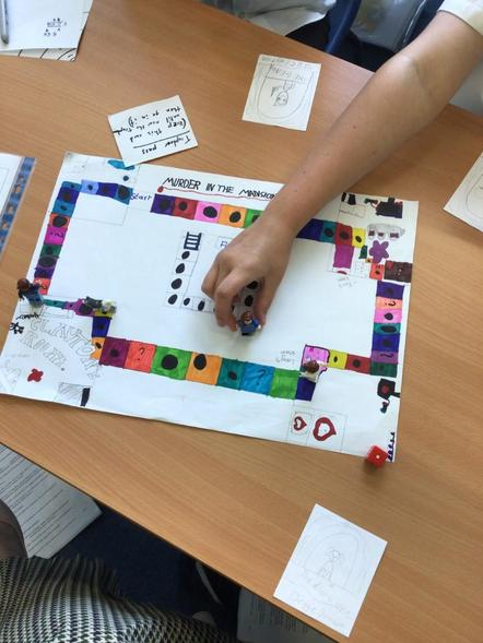 6AW have created Maths board games! They had to design the theme, board and instructions.