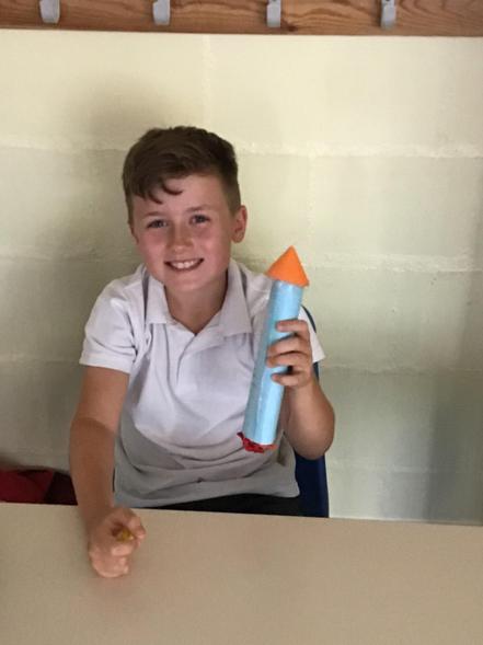 Ethan's rocket