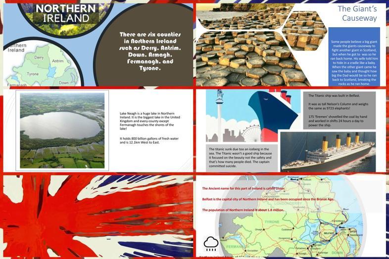 Northern Ireland by Noah