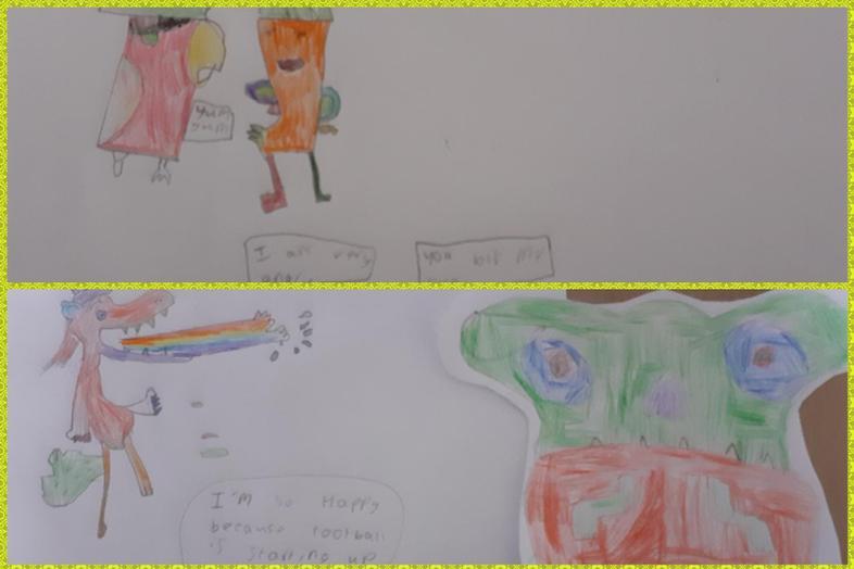 Great Olaf inspired art by Kiera