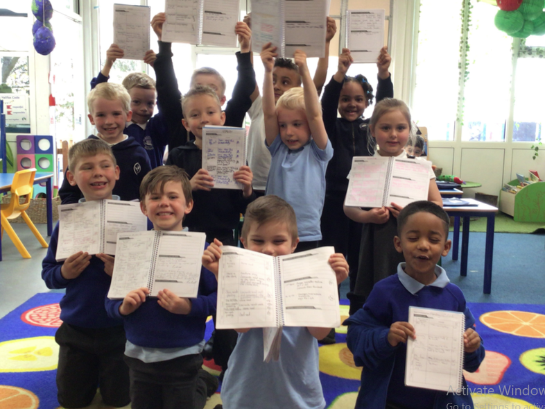 1RO - all these pupils have read 6 times or more in the past week, wow!
