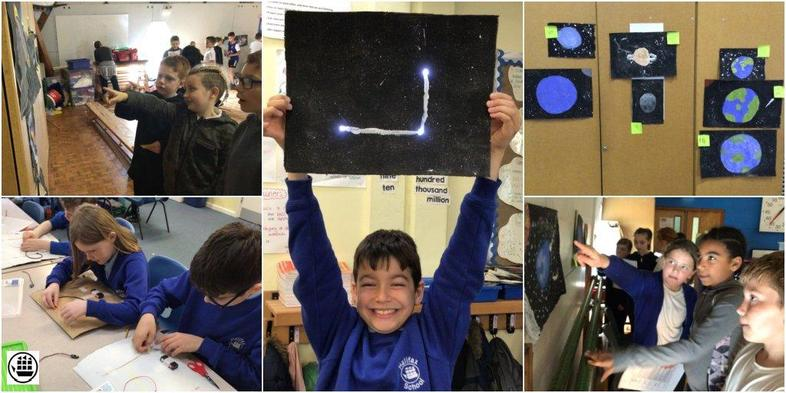 Our Art Exhibition of our space art!
