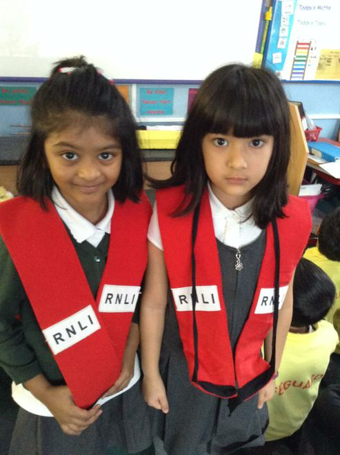 A visit from the RNLI!