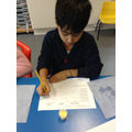 Tasting Lassi as part of our India topic