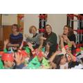 The teachers sang... and danced too!