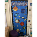 Reading displays to encourage home reading