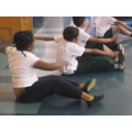 PE lessons really stretch us!