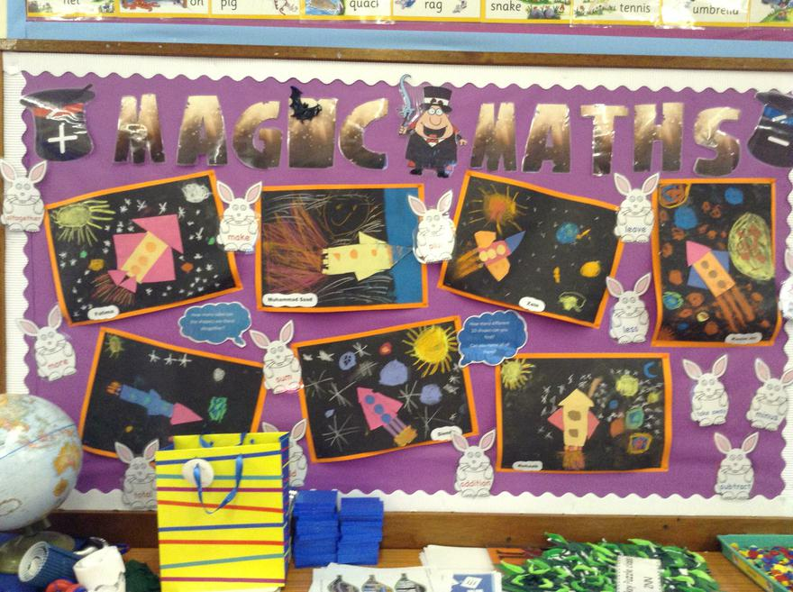 Look! Art  is a creative way to learn maths.