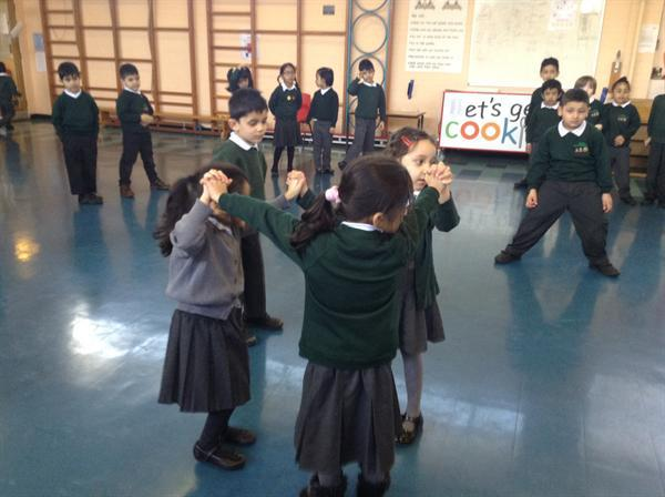 We had a drama workshop about the Rainbow Fish