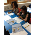 Tasting samosas as part of our India topic