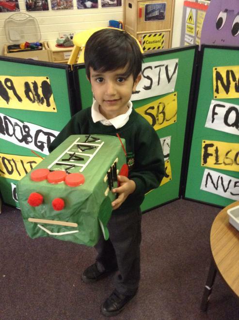 A fantastic fire engine!