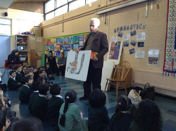 Meeting an Author in Book Week