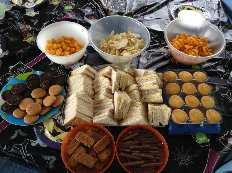 All the yummy food is ready!