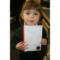 I made a book at home because it was Book Week!