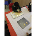 making Gingerbread Men was fun!