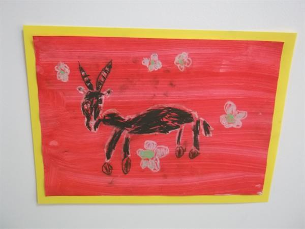 Another fantastic oil pastel drawing