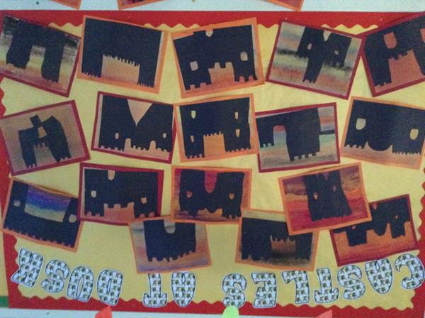 Year 1 Castle display