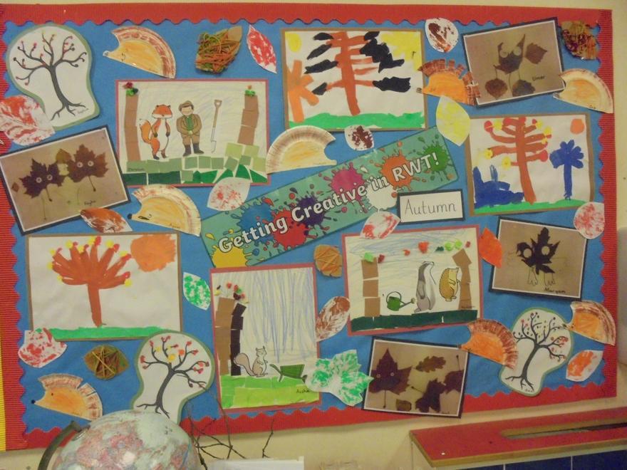 Reception: Autumn Art